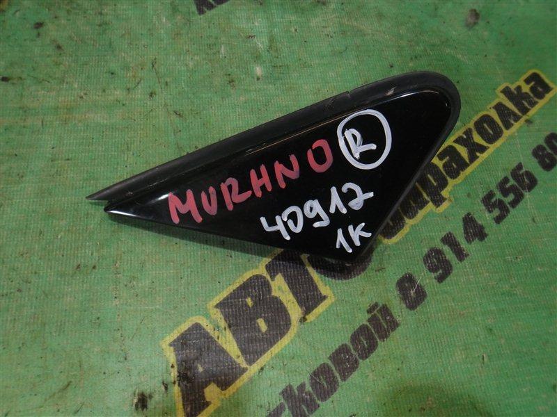 Уголок крыла Nissan Murano PNZ50 передний правый