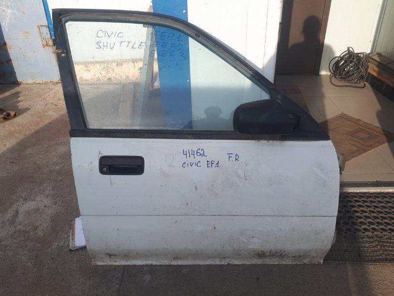 Дверь Honda Civic EF1 D15B передняя правая