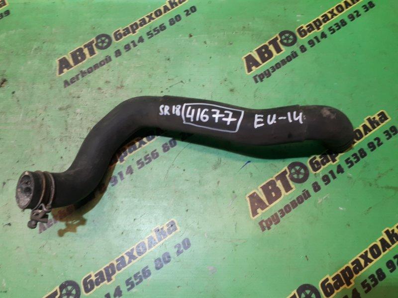 Патрубок радиатора Nissan Bluebird EU14 SR18 нижний