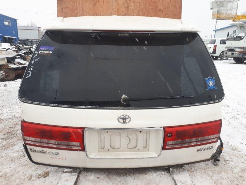 Дверь 5-я Toyota Mark Ii Qualis MCV21 2MZ задняя