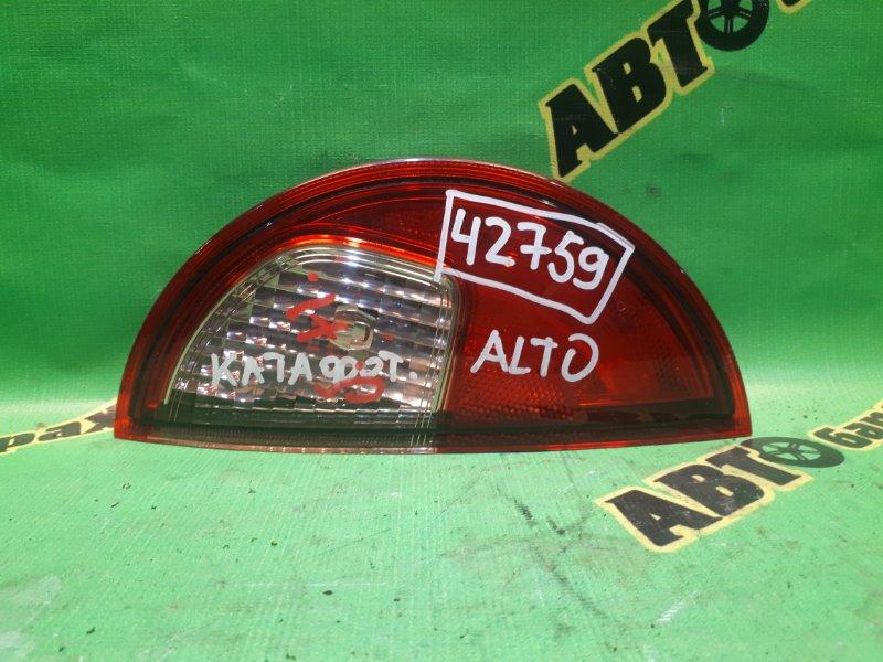 Вставка между стопов Suzuki Alto HE33S задняя левая
