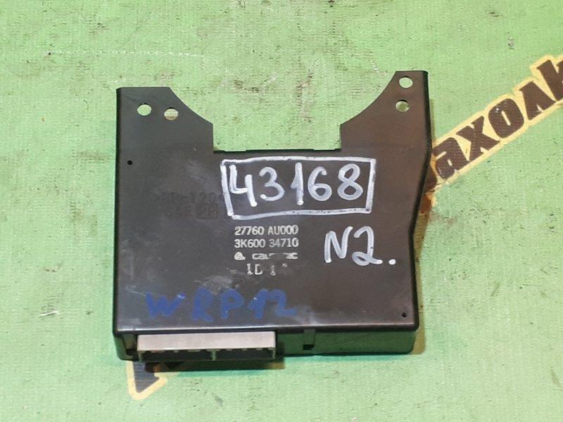 Блок управления кондиционером Nissan Primera WTNP12 QR20