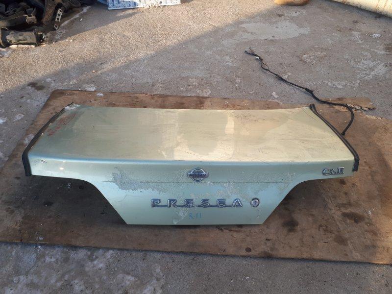 Крышка багажника Nissan Presea R11 GA15