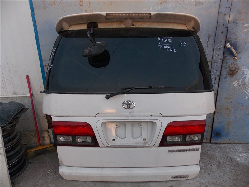 Дверь 5-я Toyota Touring Hiace RCH41 3R-ZFE задняя