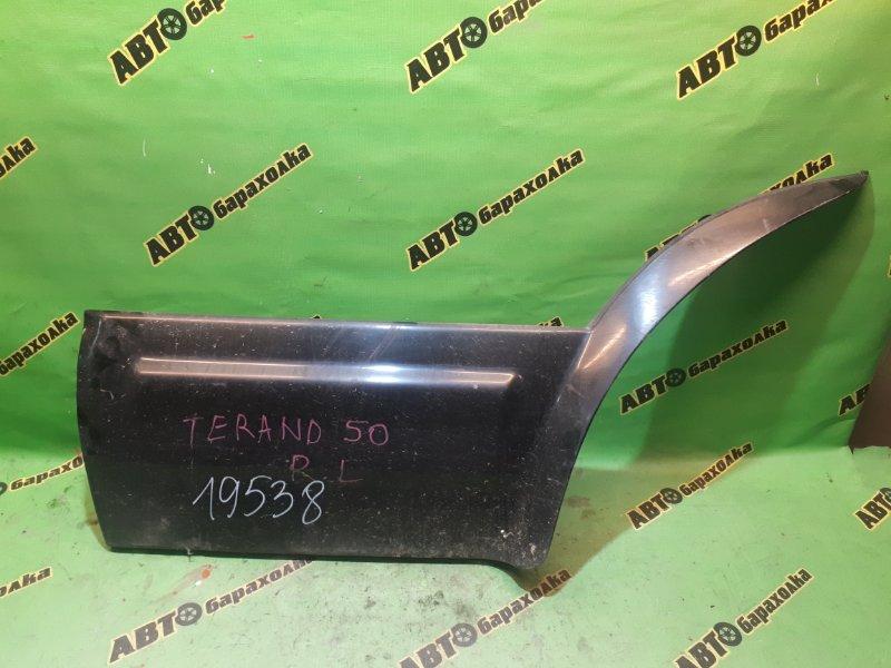 Накладка на дверь Nissan Terrano R50 задняя левая