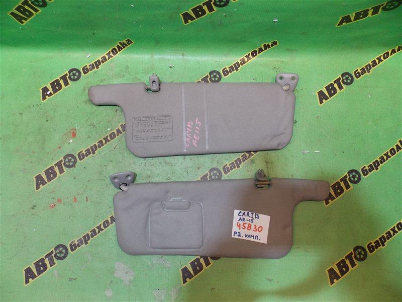 Козырек солнцезащитный Toyota Sprinter Carib AE115 7A-FE передний