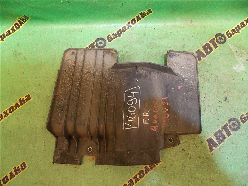 Защита двигателя Toyota Mark Ii Qualis MCU21 2MZ передняя правая