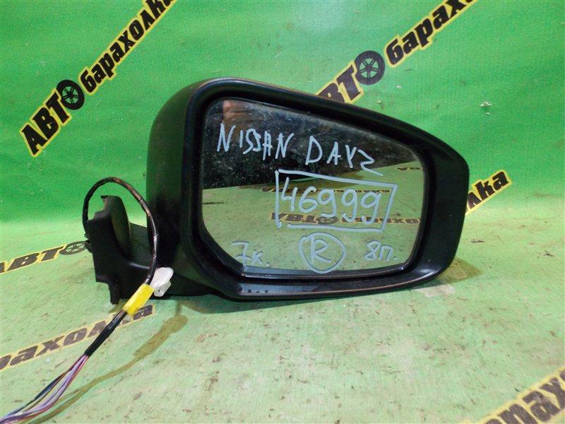 Зеркало Nissan Dayz B21W B21A переднее правое