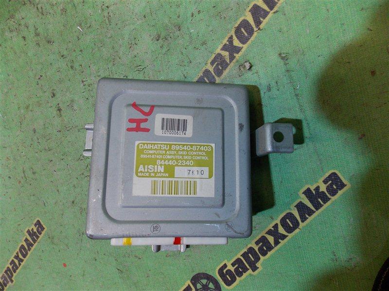 Блок управления abs Daihatsu Terios J100G HC