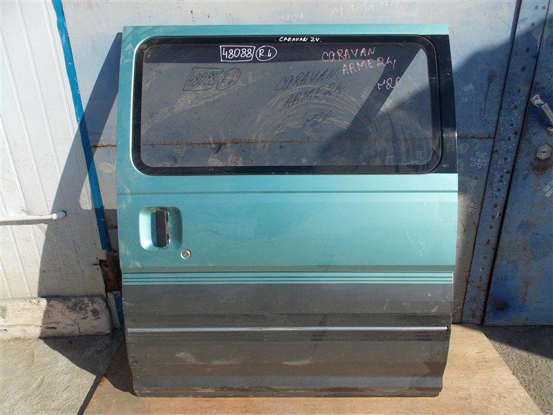 Дверь боковая (раздвижная) Nissan Caravan ARME24 TD27(ETI) 1995 задняя левая