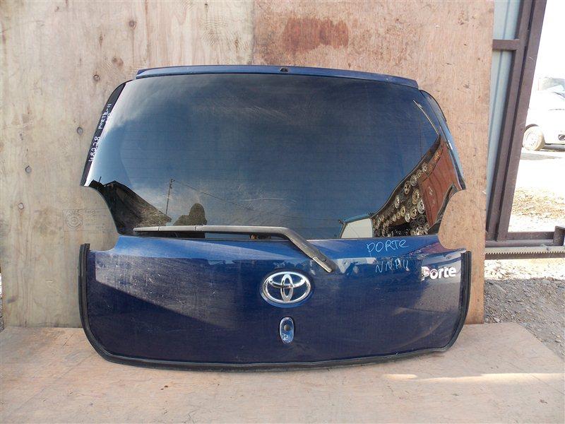 Дверь 5-я Toyota Porte NNP11 1NZ задняя