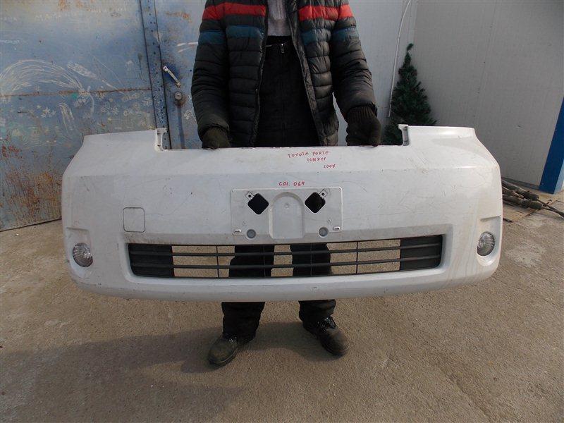 Бампер Toyota Porte NNP11 1NZ передний