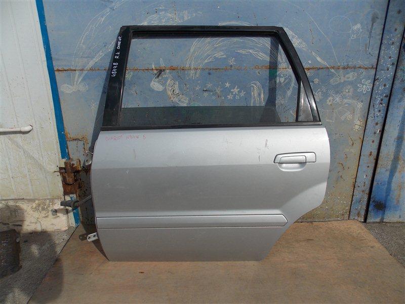 Дверь Mitsubishi Chariot Grandis N84W 4G64 2002 задняя левая