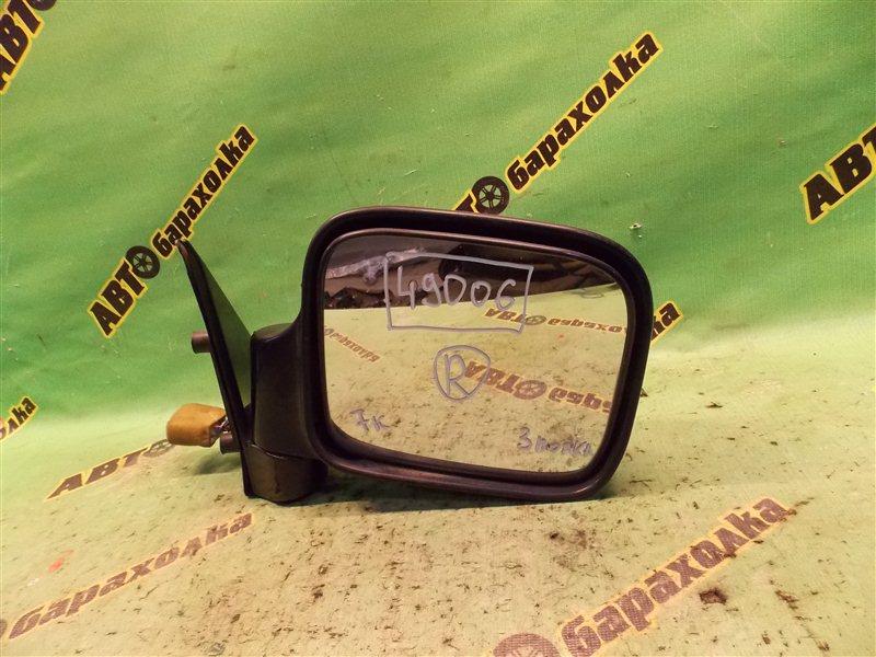 Зеркало Isuzu Bighorn UBS73GW 4JX1 1998 переднее правое