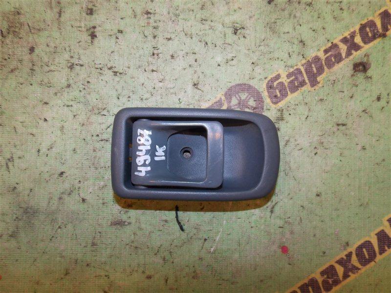 Ручка двери внутренняя Toyota Duet M100A EJ-VE задняя правая