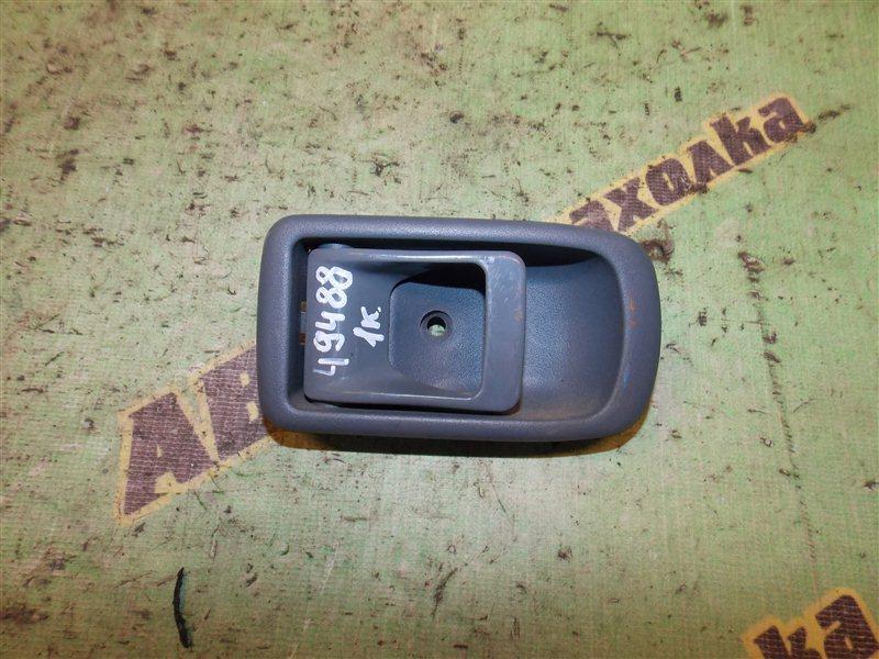 Ручка двери внутренняя Toyota Duet M100A EJ-VE задняя левая