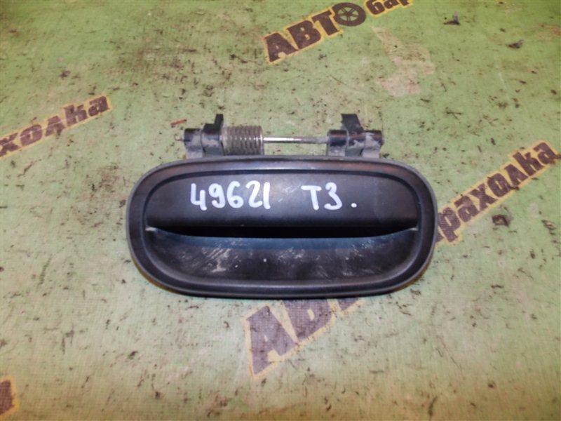 Ручка двери внешняя Toyota Town Ace KR27 5K передняя левая