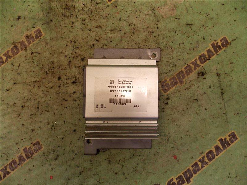 Блок управления акпп Isuzu Bighorn UBS73GW 4JX1 1998