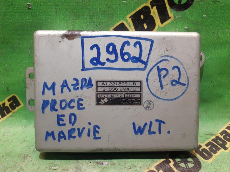 Блок переключения кпп Mazda Proceed Marvie UVL6R WLT