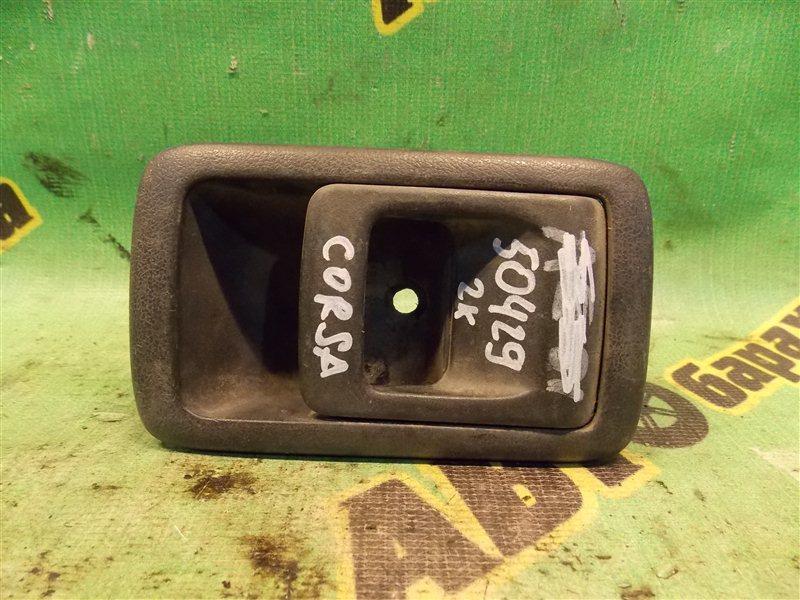 Ручка двери внутренняя Toyota Corsa EL51 4E-FE задняя левая