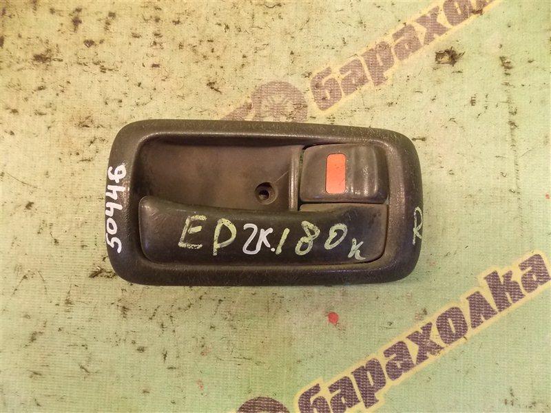 Ручка двери внутренняя Toyota Carina Ed ST180 3S-FE передняя правая
