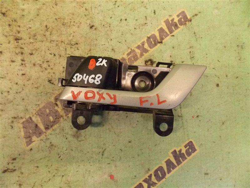 Ручка двери внутренняя Toyota Voxy AZR70 3ZR передняя левая