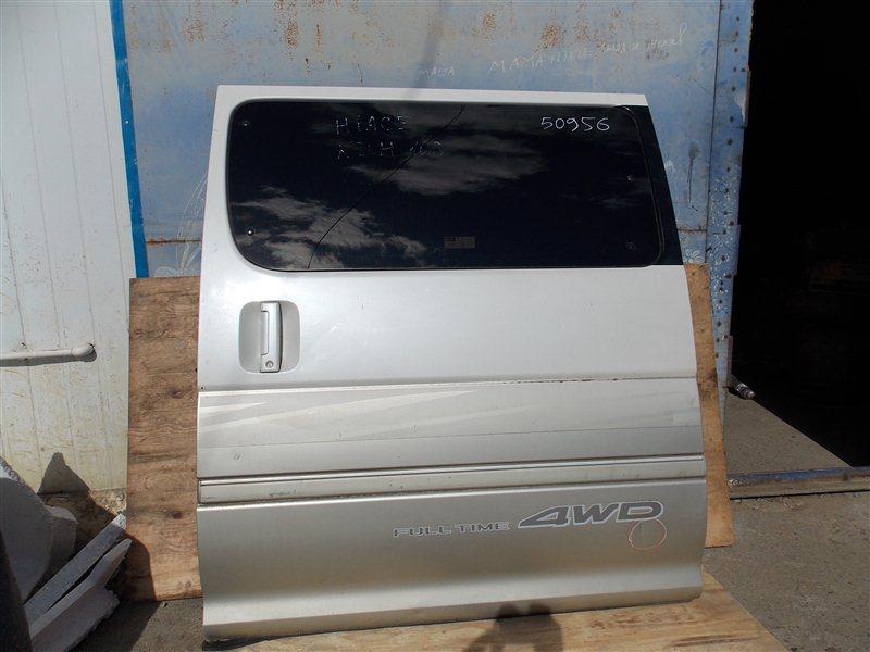 Дверь боковая (раздвижная) Toyota Hiace KZH106 1KZ-TE 1999 задняя левая