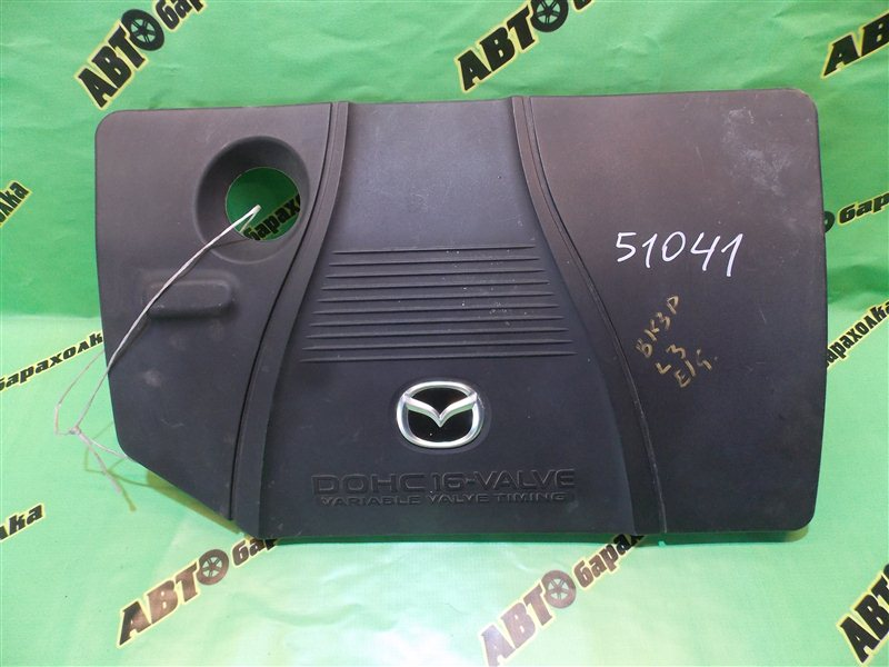 Декоративная крышка двс Mazda Axela BK3P L3