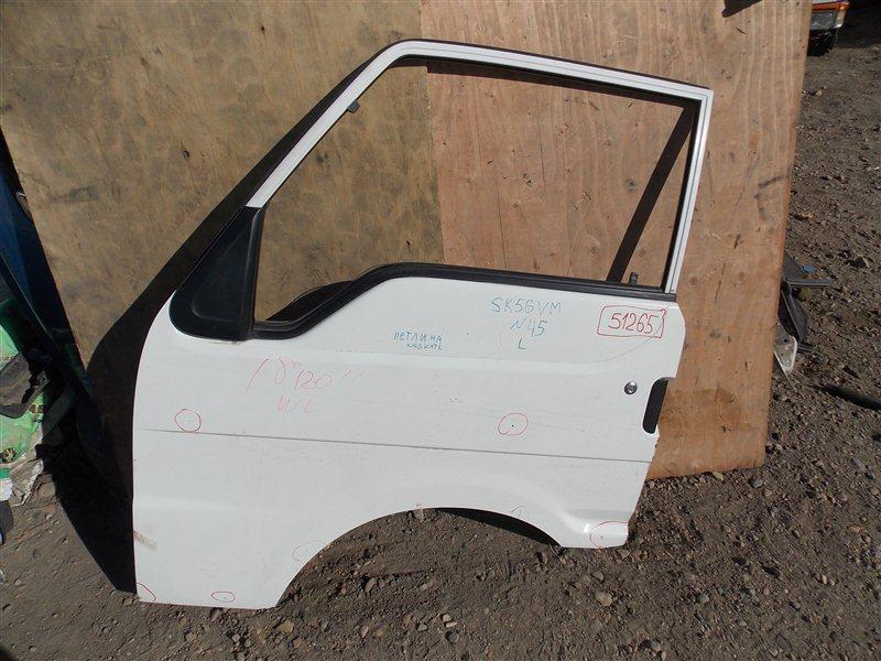 Дверь Mazda Bongo Brawny SK56VN WL 2000 передняя левая