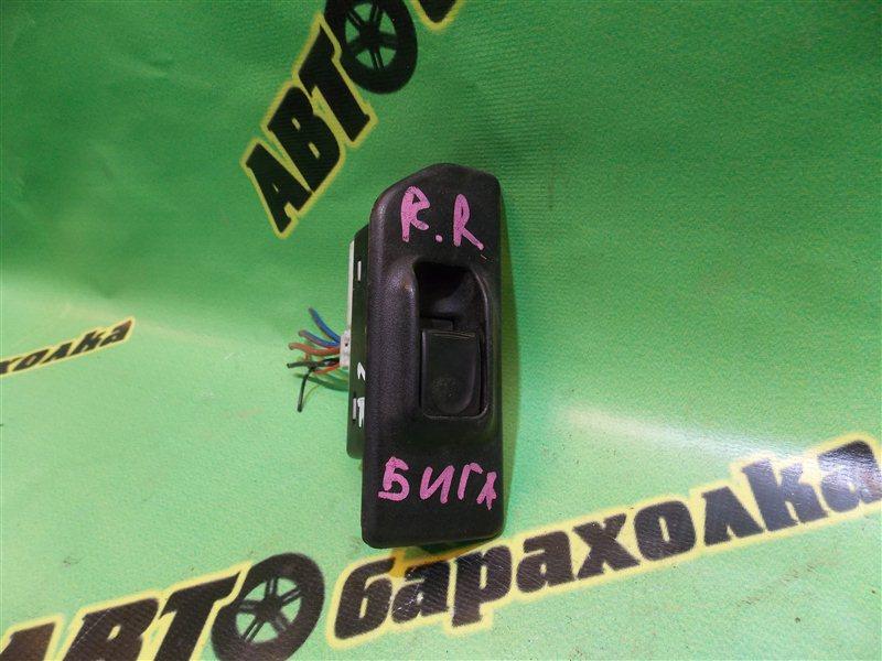 Кнопка стеклоподъемника Isuzu Bighorn UBS69 задняя правая