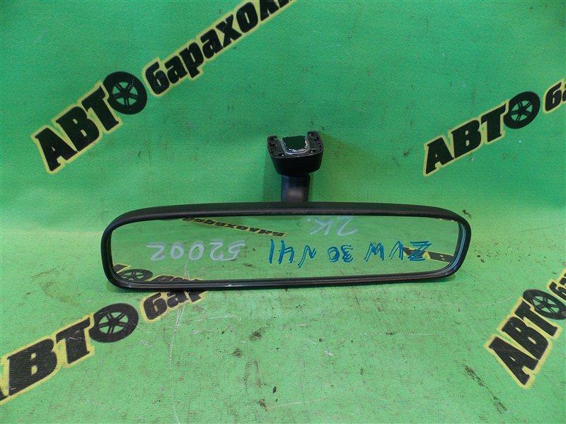 Зеркало заднего вида Toyota Prius ZVW30 2ZR-FXE 2010