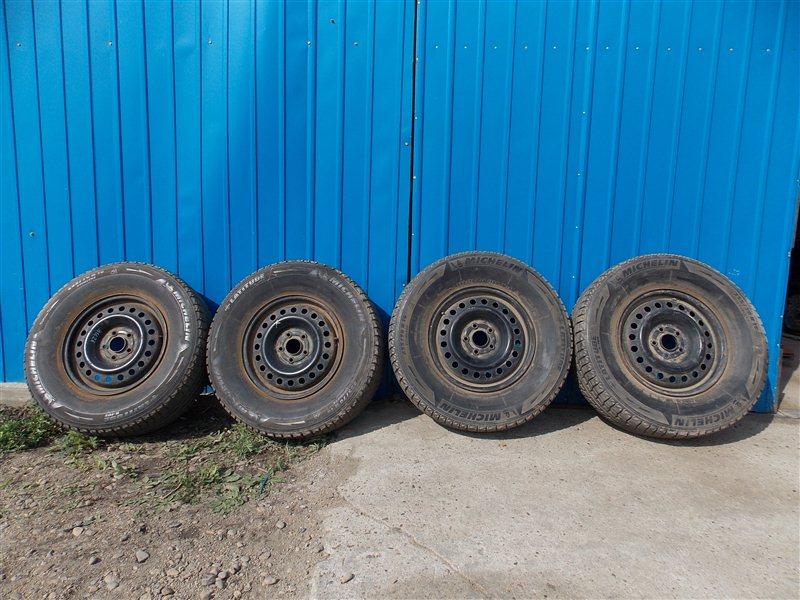 Комплект из 4-х колёс R16 / 255 / 70 MICHELIN LATITUDE 5x114 штамп.
