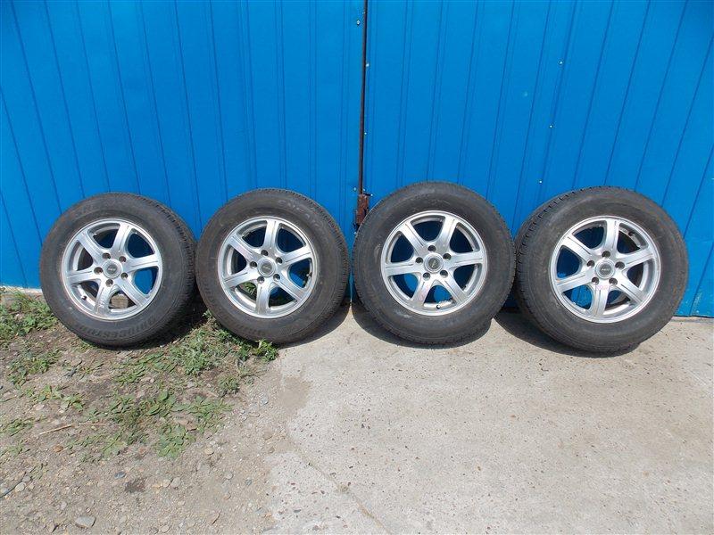 Комплект из 4-х колёс R15 / 215 / 65 BRIDGESTONE NEXTRY 5x100 лит. 45ET