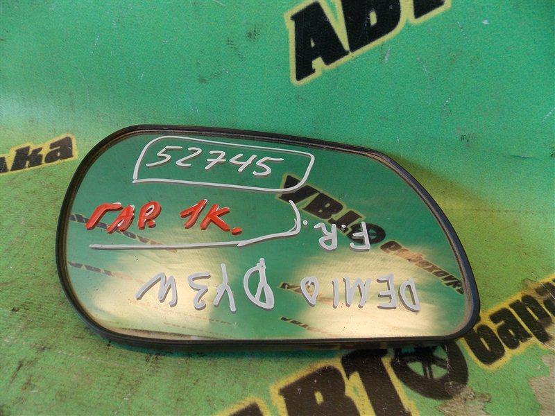 Зеркало-полотно Mazda Demio DY3W переднее правое