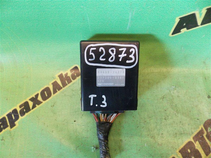 Блок управления кондиционером Toyota Hiace KZH106 1KZ