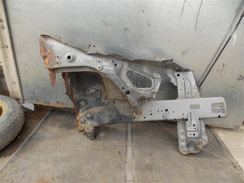 Лонжерон Honda Airwave GJ1 L15A передний правый