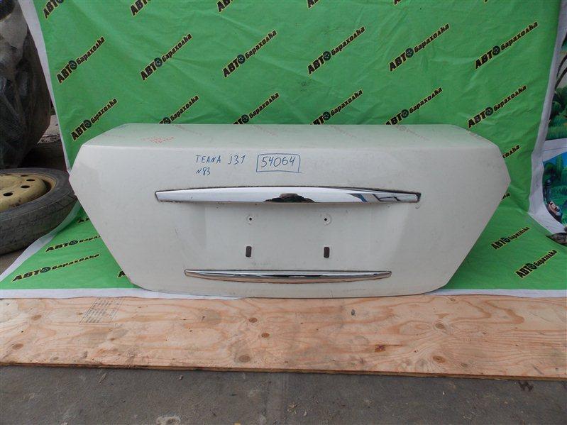 Крышка багажника Nissan Teana J31 VQ23(DE) 2003 задняя