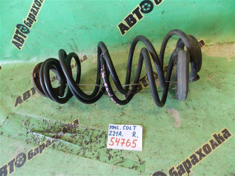 Пружина Mitsubishi Colt Z21A 4A90 2005 задняя