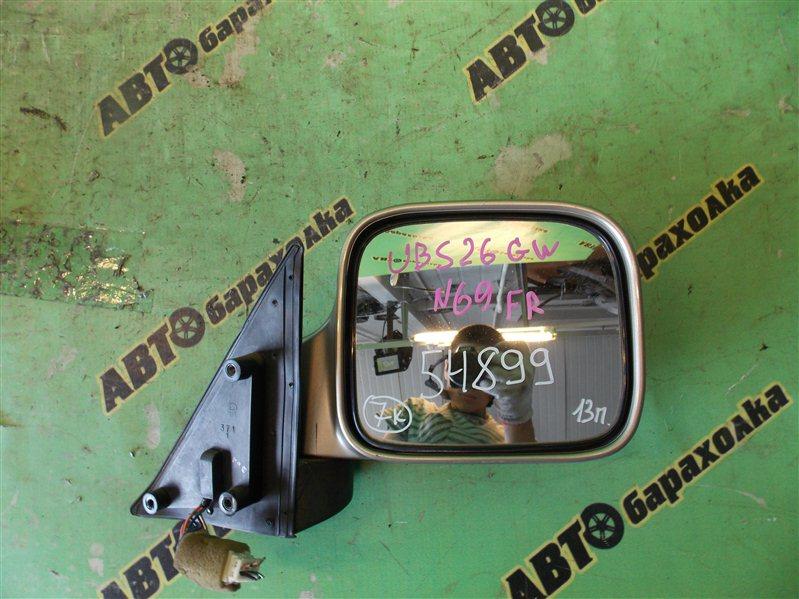 Зеркало Isuzu Bighorn UBS26GW 6VE1 2001 переднее правое