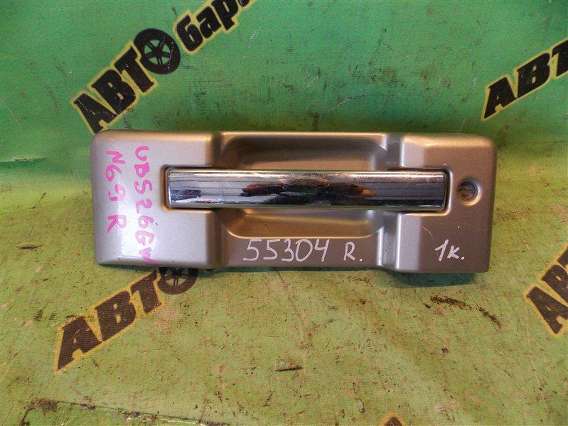 Ручка задней двери Isuzu Bighorn UBS26GW 6VE1 2001 задняя