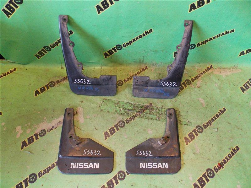 Брызговики комплект Nissan Avenir W10 SR18(DE) 1996
