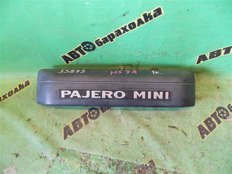 Накладка 5-й двери Mitsubishi Pajero Mini H53A задняя