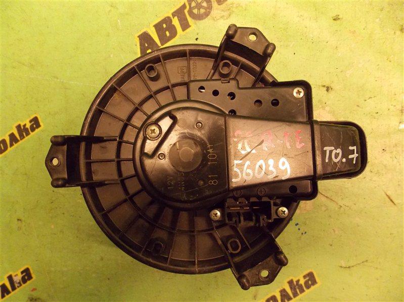 Мотор печки Toyota Venza 4T32BB1BU040250 2GR-FE передний