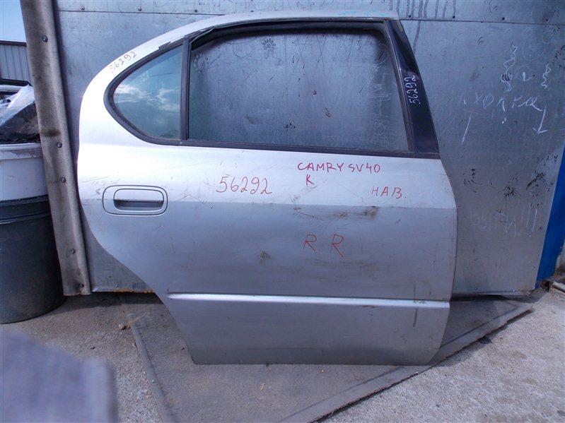 Дверь Toyota Vista SV40 задняя правая