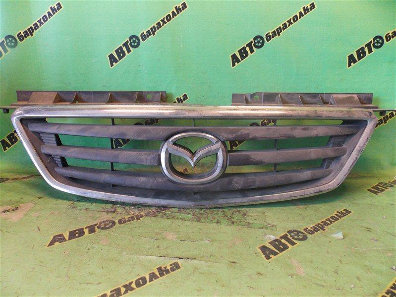 Решетка радиатора Mazda Mpv LV5W передняя