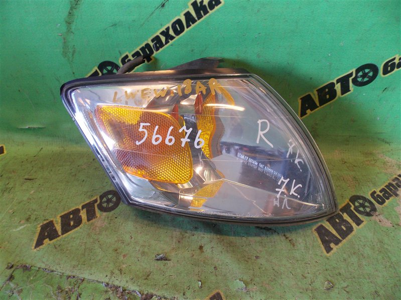 Габарит Mazda Mpv LWEW FS 2001 передний правый