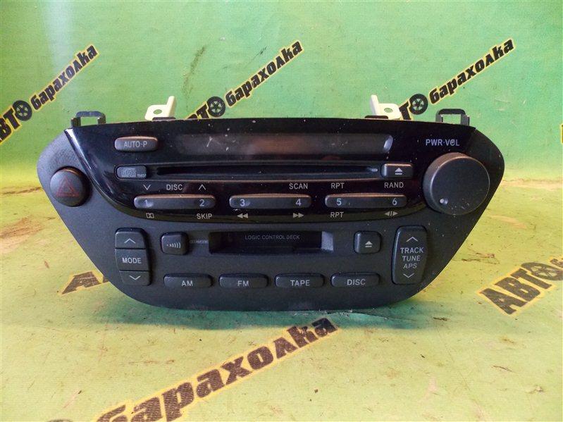 Магнитофон Toyota Vista AZV50 1AZ-FSE 2002 передний