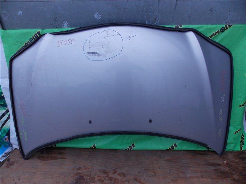 Капот Mazda Mpv LW3W 2003 передний