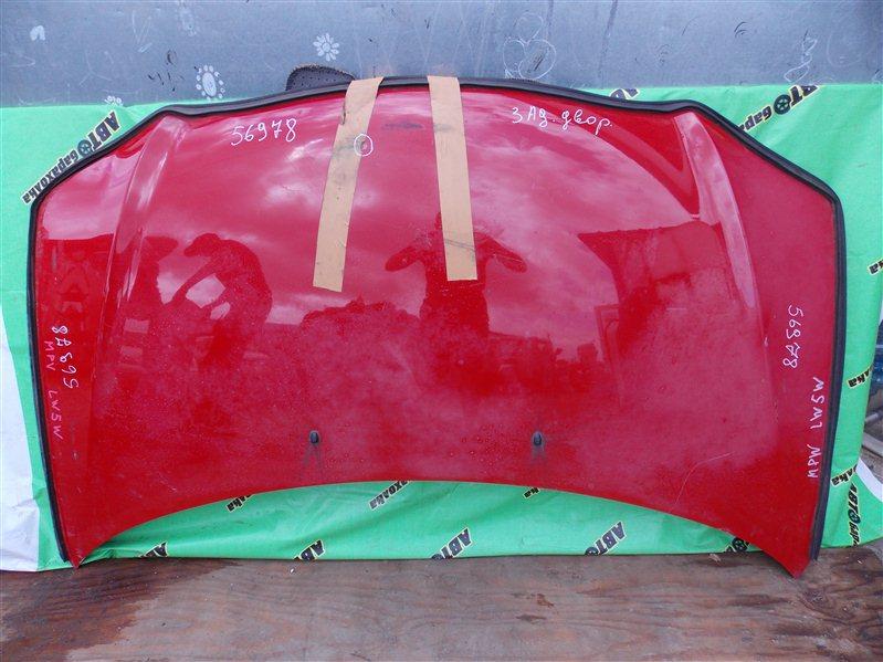 Капот Mazda Mpv LW5W передний