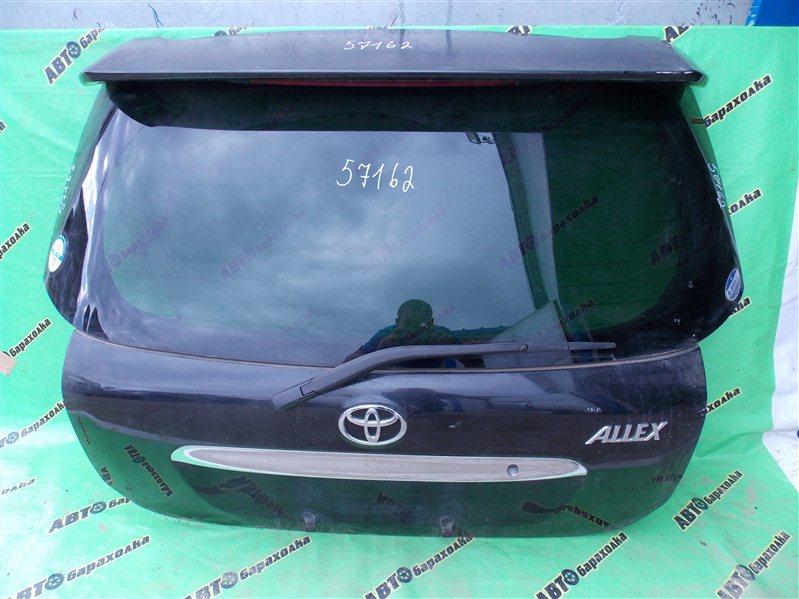 Дверь 5-я Toyota Allex NZE121 задняя